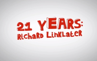 21 Years Richard Linklater Documentary Title Card