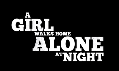 A Girl Walks Home Alone at Night starring Sheila Vand, Arash Marandi, Marshall Manesh, Mozhan Marnò, Dominic Rains, Rome Shadanloo, Milad Eghbali, and Reza Sixo Safai.