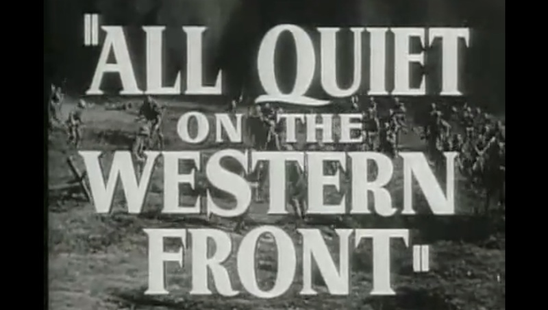 should all quiet on the western Erich maria remarque all quiet on the western front it was fairly quiet on our sector, so should always have shied at these things before.