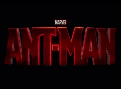 Ant-Man starring Paul Rudd, Michael Douglas, Evangeline Lilly, Hayley Atwell, Corey Stoll, John Slattery, and Jordi Mollà.