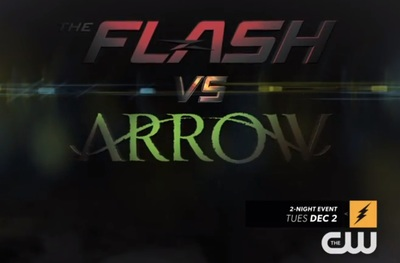 Arrow vs The Flash