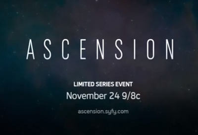 Ascension starring Al Sapienza, Brad Carter, Jessica Sipos, Michelle Mylett, Ellie O'Brien, Amanda Thomson, Aliyah O'Brien, Rachael Crawford, Lauren Lee Smith, Cynthia Preston and Tricia Helfer.