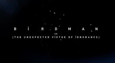 Birdman movie trailer oscar nomination Michael Keaton