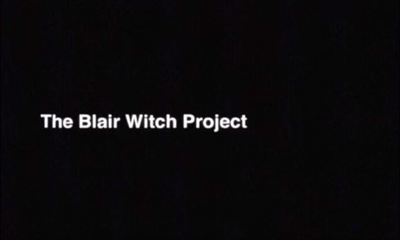 Blair Witch Project movie film trailer feature horror halloween death murder students scary woods stick men
