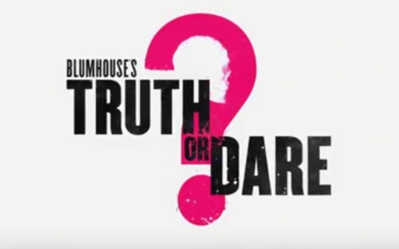 Blumhouse's Truth or Dare stars Lucy Hale, Tyler Posey, Landon Liboiron, Nolan Gerard Funk, Brady Smith, Violett Beane, Hayden Szeto, Sam Lerner, Aurora Perrineau, Sophia Ali, and Morgan Lindholm.