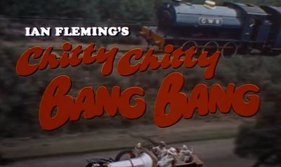 Chitty Chitty Bang Bang Ian Fleming Dick Van Dyke Lionel Jeffries