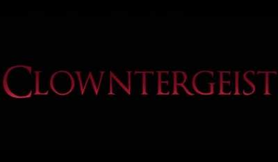 Clowntergeist is a horror film starring Brittany Belland, Aaron Mirtes, Monica Baker, Eric Corbin, Madeleine Heil, and Johnjay Fitih.