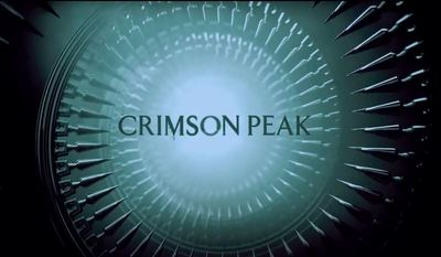 Crimson Peak movie teaser trailer horror fantasy