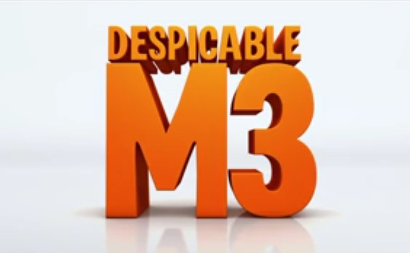 Despicable Me 3 stars Steve Carell, Kristen Wiig, Trey Parker, Miranda Cosgrove, Russell Brand, Dana Gaier, Nev Scharrel, Michael Beattie, Andy Nyman, and Pierre Coffin.