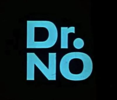 Dr No movie trailer James Bond Ian Fleming Sean Connery