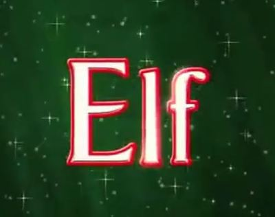 Elf movie trailer Christmas Will Ferrell Zooey Deschanel