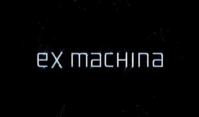 Ex Machina starring Domhnall Gleeson, Oscar Isaac, and Alicia Vikander.