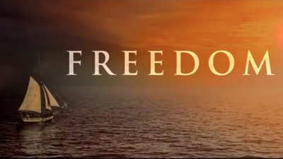 Freedoms starring Cuba Gooding Jr., William Sadler, Sharon Leal, David Rasche, Terrence Mann, Michael Goodwin, Phillip Boykin, Diane Salinger, and Bart Shatto.