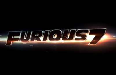 Furious 7 starring Vin Diesel, Paul Walker, Dwayne Johnson, Michelle Rodriguez, Jordana Brewster, Tyrese Gibson, Ludacris, Lucas Black, and Jason Statham