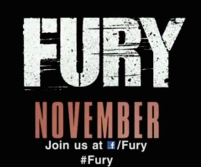 Fury starring Brad Pitt, Shia LeBeouf, Logan Lerman, Michael Peña, Jon Bernthal, Jim Parrack, Brad William Henke, Anamaria Marinca, and Alicia von Rittberg