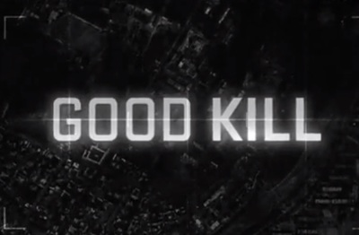 Good Kill starring Ethan Hawke, January Jones, Zoë Kravitz, Jake Abel, Bruce Greenwood, Kristen Rakes, Stafford Douglas, and Dylan Kenin.