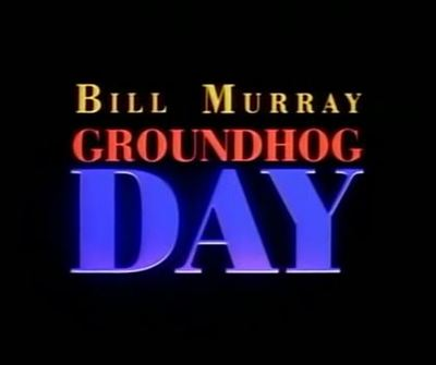 Groundhog Day movie trailer Bill Murray Andie MacDowell