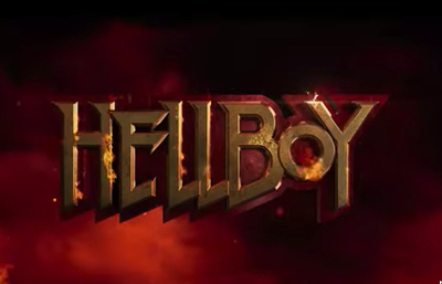 Hellboy (2019) starring David Harbour, Milla Jovovich, Sasha Lane, Penelope Mitchell, Ian McShane, Daniel Dae Kim, Ashley Edner, Thomas Haden Church, Sophie Okonedo, and Kristina Klebe.
