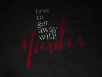 How to get away with murder tv series trailer