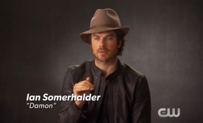 Ian Somerhalder, star of The Vampire Diaries