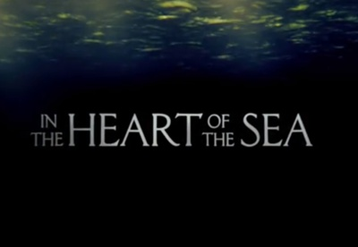 In the Heart of the Sea starring Chris Hemsworth, Benjamin Walker, Cillian Murphy, Tom Holland, Ben Whishaw, Brendan Gleeson, and Michelle Fairley