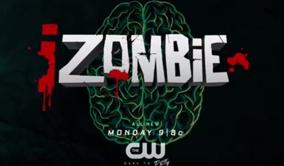 iZombie S4E1 stars Rose McIver, Malcolm Goodwin, Rahul Kohli, Robert Buckley, David Anders, Aly Michalka, Robert Knepper, Jason Dohring, and Adam Kaufman.