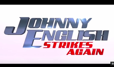 Johnny English Strikes Again stars Rowan Atkinson, Olga Kurylenko, Jake Lacy, Ben Miller, Miranda Hennessy, and David Mumeni.