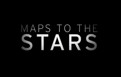 Maps to the Stars starring Julianne Moore, Mia Wasikowska, Sarah Gadon, John Cusack, Robert Pattinson and Carrie Fisher