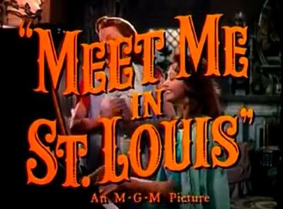 Meet Me in St Louis movie trailer Christmas Judy Garland Minnelli