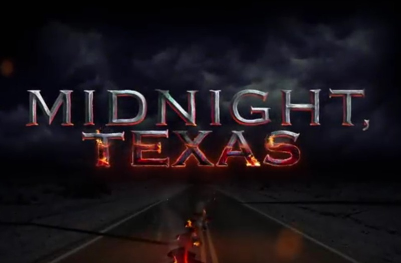 Midnight, Texas starring François Arnaud, Dylan Bruce, Peter Mensah, Sarah Ramos, Parisa Fitz-Henley, Arielle Kebbel, Jason Lewis, and Joanne Camp.