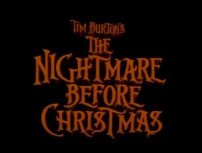Nightmare Before Christmas classic movie trailer Tim Burton
