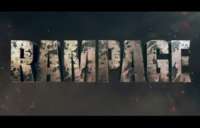Rampage stars Dwayne Johnson, Naomie Harris, Jeffrey Dean Morgan, Malin Akerman, Joe Manganiello, Breanne Hill, Matt Gerald, and Jason Liles.