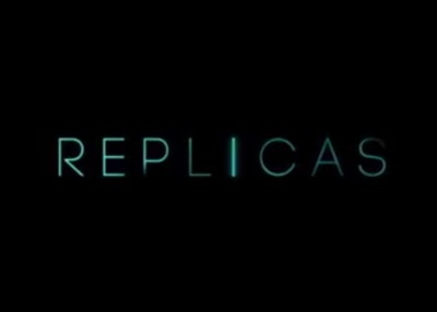 Replicas starring Keanu Reeves, Alice Eve, Emily Alyn Lind, Thomas Middleditch, John Ortiz, Emjay Anthony, Nyasha Hatendi, Aria Lyric Leabu, Amber Townsend, and Amber Rivera.