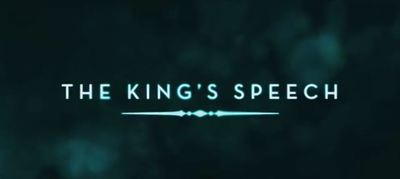 The King's Speech Colin Firth movie trailer