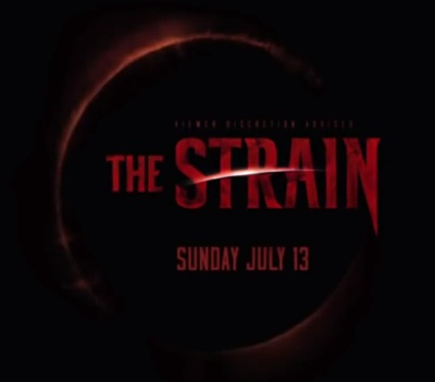 The Strain on FX starring Corey Stoll, David Bradley, Mía Maestro, Kevin Durand, Jonathan Hyde, Richard Sammel, Jack Kesy, Natalie Brown, Miguel Gómez, and Ben Hyland