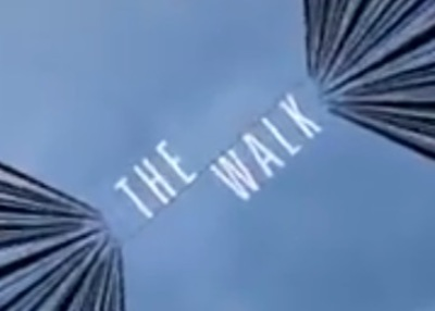 The Walk starring Joseph Gordon-Levitt, Ben Kingsley, Charlotte Le Bon, James Badge Dale, Ben Schwartz, and Steve Valentine.