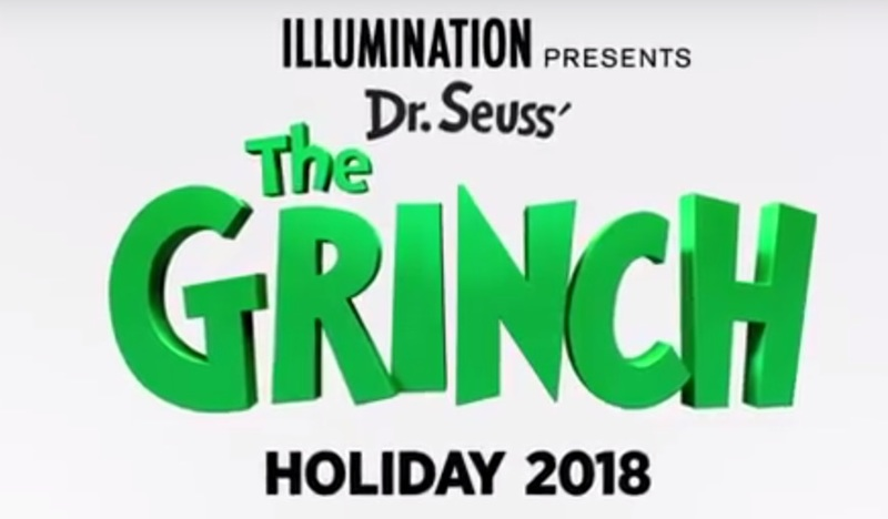 The Grinch stars Benedict Cumberbatch.  - Movie Promo: The Grinch (2018) Olympic TV Spot