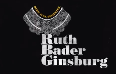The Notorious R.G.B. is a documentary about Ruth Bader Ginsburg.