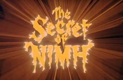 The Secret of NIMH stars Elizabeth Hartman, Derek Jacobi, Arthur Malet, Dom DeLuise, Hermione Baddeley, Shannen Doherty, Wil Wheaton, John Carradine, Peter Strauss, and Lucille Bliss.