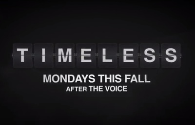 Timeless season 1 stars Abigail Spencer, Matt Lanter, Malcolm Barrett, Claudia Doumit, Goran Visnjic, Paterson Joseph, and Sakina Jaffrey.