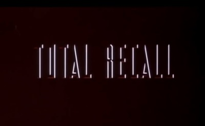 Total Recall starring Arnold Schwarzenegger, Rachel Ticotin, Sharon Stone, Ronny Cox, and Michael Ironside.