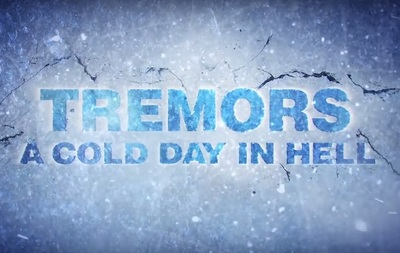 Tremors 6 A Cold Day in Hell stars Michael Gross, Jamie Kennedy, Tanya van Graan, Stephanie Schildknecht, Greg Kriek, Jenna Upton, Jay Anstey, Jamie-Lee Money, Christie Peruso, and Alistair Moulton Black.