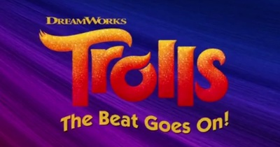 Trolls The Beat Goes On stars Kyla Carter, David Fynn, Sainty Nelsen, Skylar Astin, Ron Funches, and Amanda Leighton.