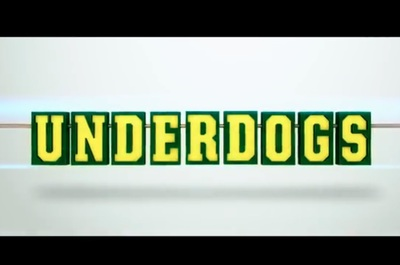 Underdogs starring Ariana Grande, Bella Thorne, Rupert Grint, Peter Serafinowicz, Anthony Head and more.