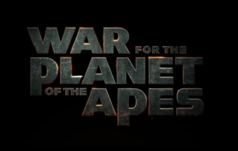 War for the Planet of the Apes Title Card
